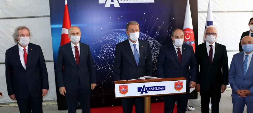 3 bakandan ASPİLSAN ziyareti