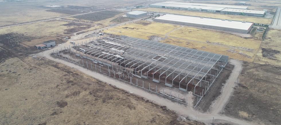 53 yeni fabrikanın inşaatı sürüyor