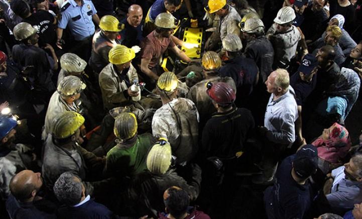 62 madencide koronavirüs tespit edildi