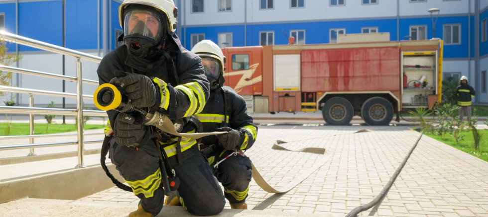 Akkuyu'da yangın tatbikatı