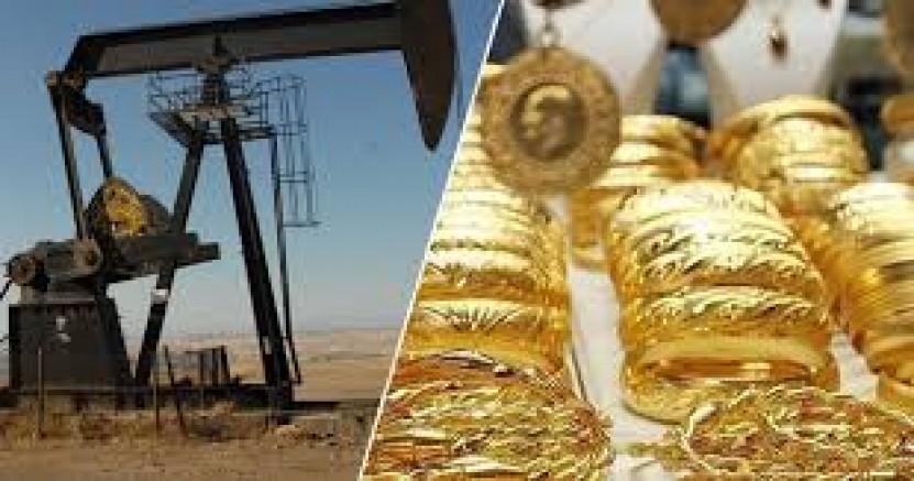 Altın ve petrol fiyatları geriledi
