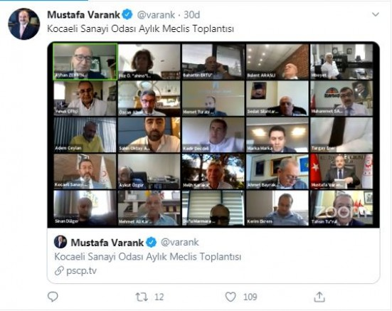 Bakan Varank'tan açıklama