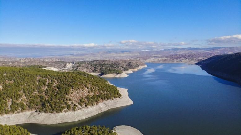 Başkent barajları'ndan görsel şölen