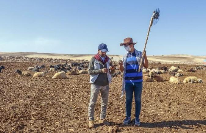 Çobanların elektrik sorununu taşınabilir rüzgar gülü yaparak çözdü