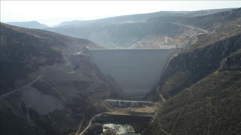 Silvan Barajı'nın gövde dolgusu tamamlanacak