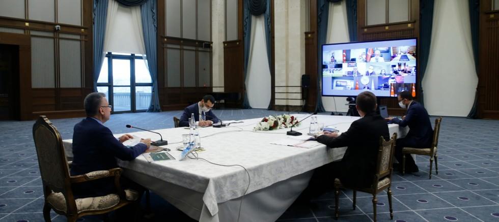 Cumhurbaşkanlığı Külliyesi'nde 'enerji' toplantısı