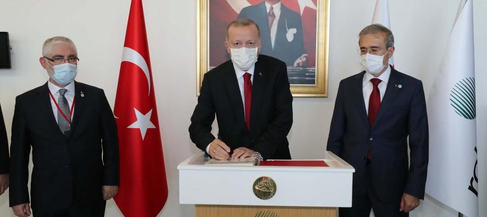 Erdoğan, Roketsan'da