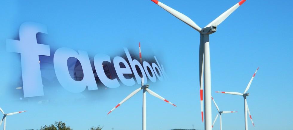 Facebook ile Dominion'un enerji birliği