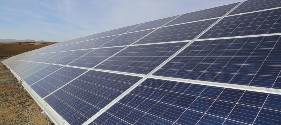 Güneş enerji santrali kuruluyor
