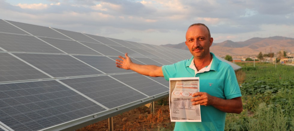 Güneş enerjisi sistemiyle 14 bin TL tasarruf