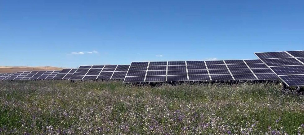 Güneş enerjisiyle 20 mahalleye elektrik