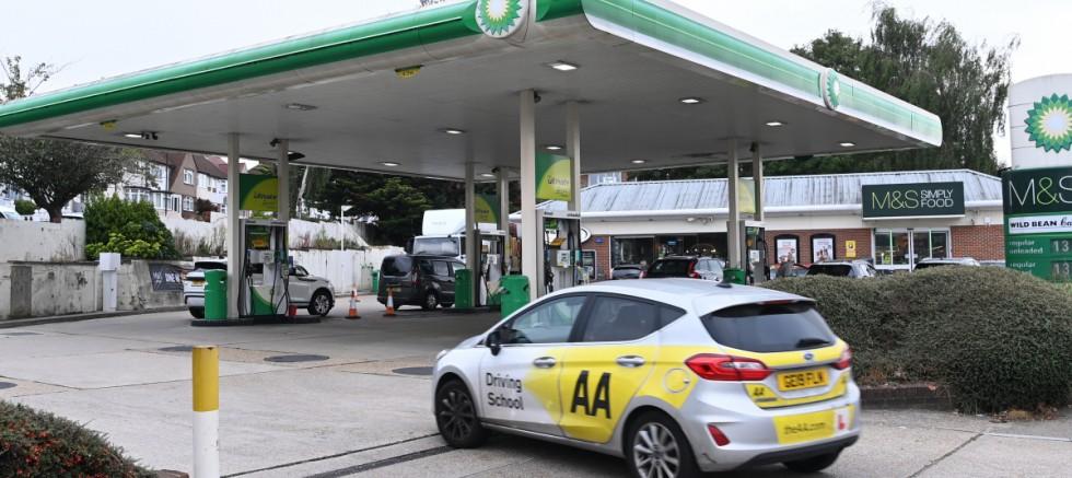 İngiltere'de benzin krizi!