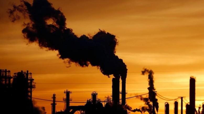 Karbondioksit emisyonu durdu