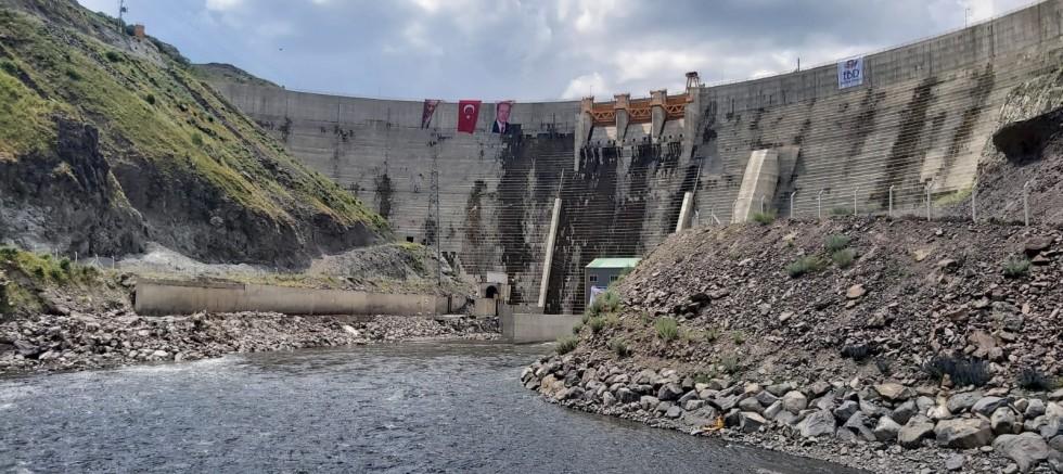 Köroğlu Barajı ve Kotanlı HES hizmete başladı