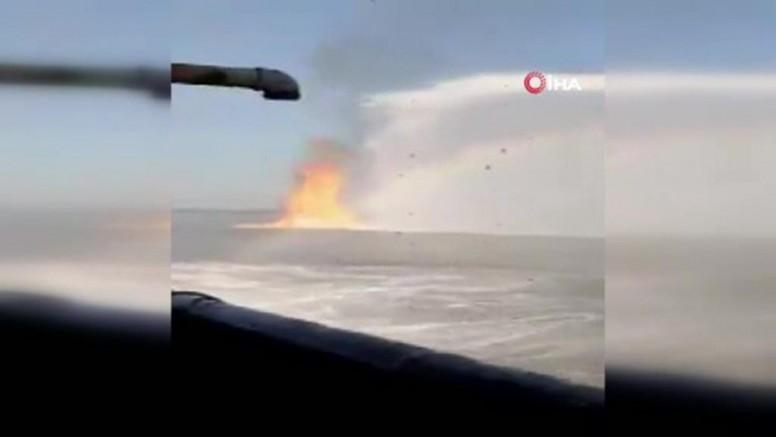 Meksika'da su altı boru hattında patlama