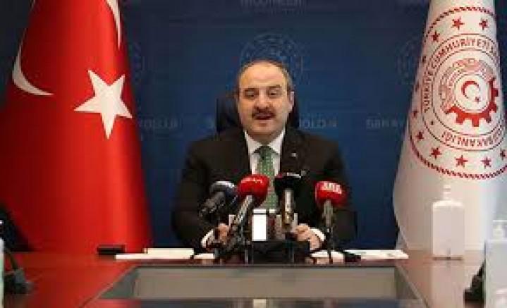 Sanayi ve Teknoloji Bakanı Varank'ın açıklamaları