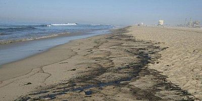 California kıyılarında petrol sızıntısı