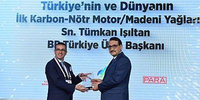 Enerji ve Tabii Kaynaklar Bakanlığı'ndan Castrol'e ödül