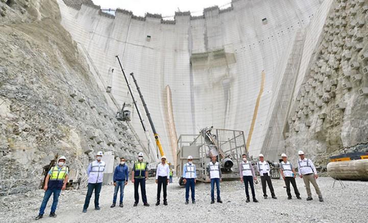 Türkiye'nin en yüksek barajı!