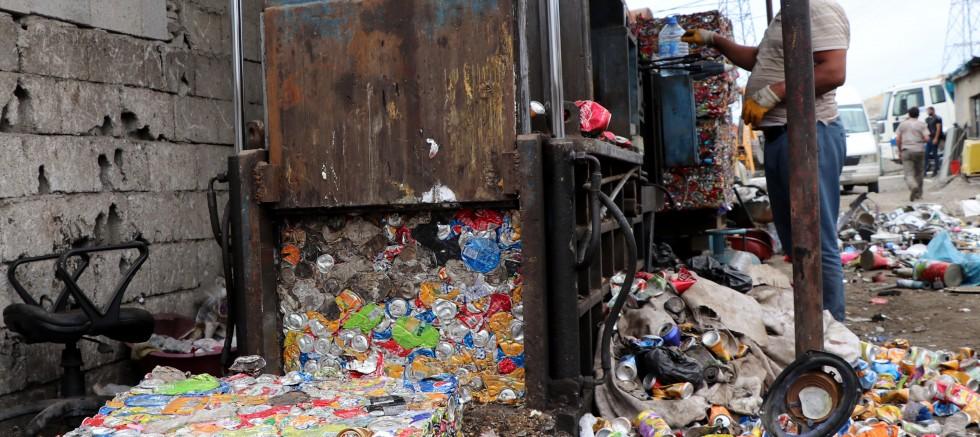 Van'da 360 bin ton atık geri dönüşümde