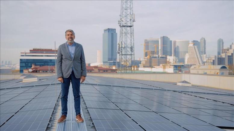 Vodafone, güneş enerjisi santrali kurdu