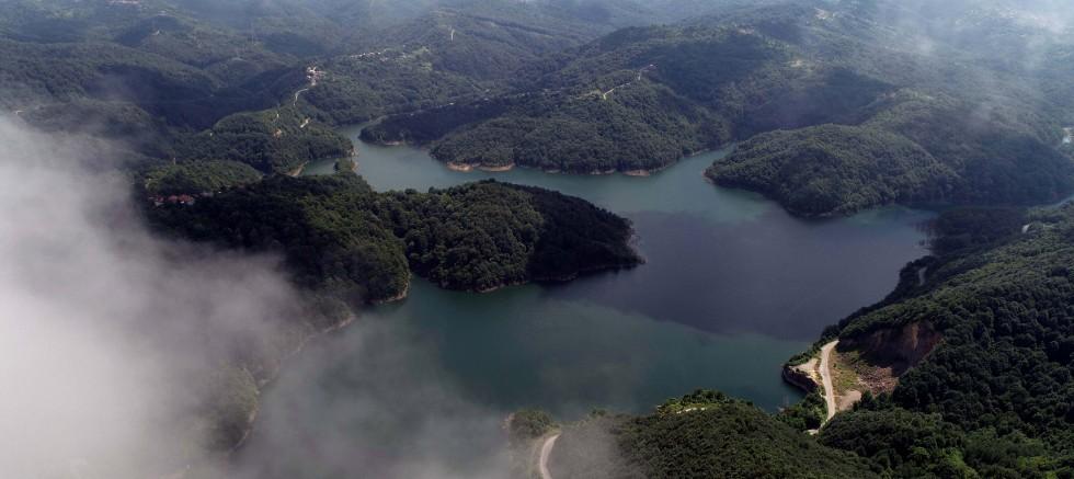 Zonguldak'ta 6 ay yetecek kadar su kaldı